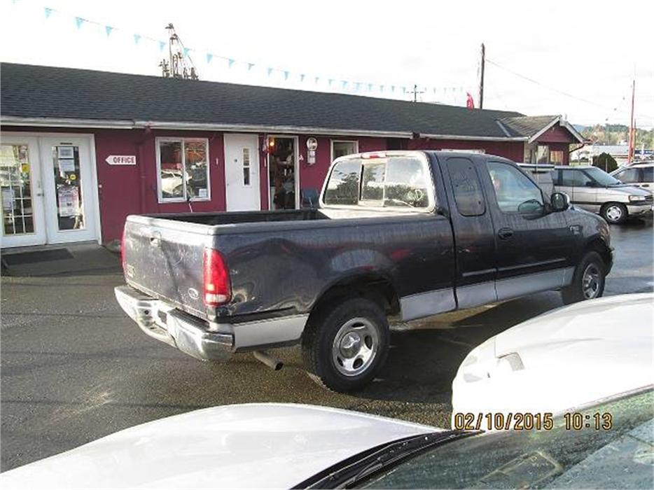 2000 ford f 150 ws supercab short bed 2wd duncan cowichan. Black Bedroom Furniture Sets. Home Design Ideas