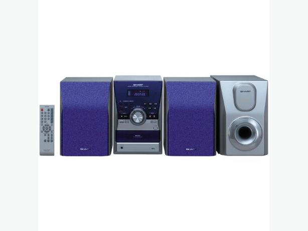 Sharp XLMP60 Hi-Fi Micro Audio System With 5 Disc Changer