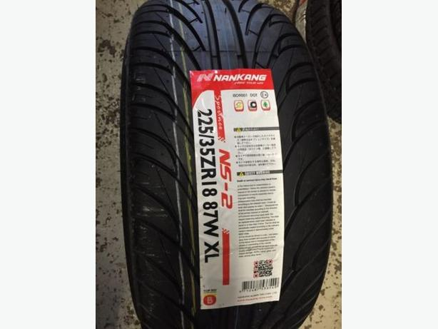 Four Brand New 225/35/R18 Nankang NS-2 tires!!!
