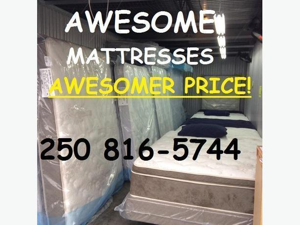 NANAIMO'S BEST VALUE ON NEW MATTRESSES