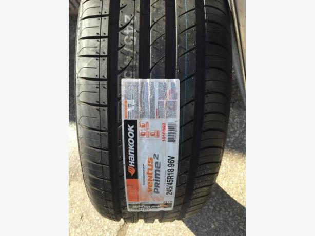 NEW 245/45/R18 Hankook Ventus Prime-2 Performance touring tires