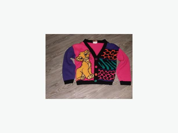 Disney  lion king sweater child sweater