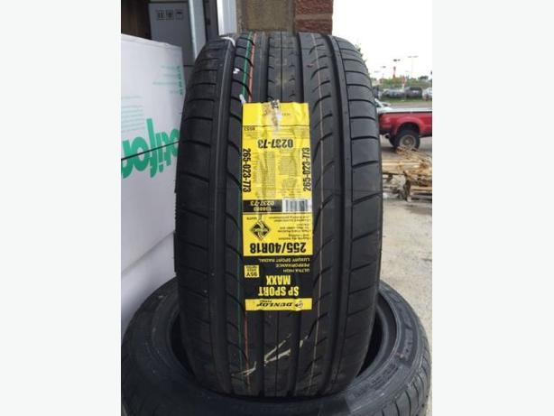 Brand New 255/40/R18 Dunlop SP Sport MAXX performance tires