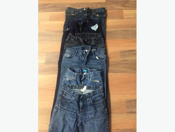 6 pairs of girls jeans size 12