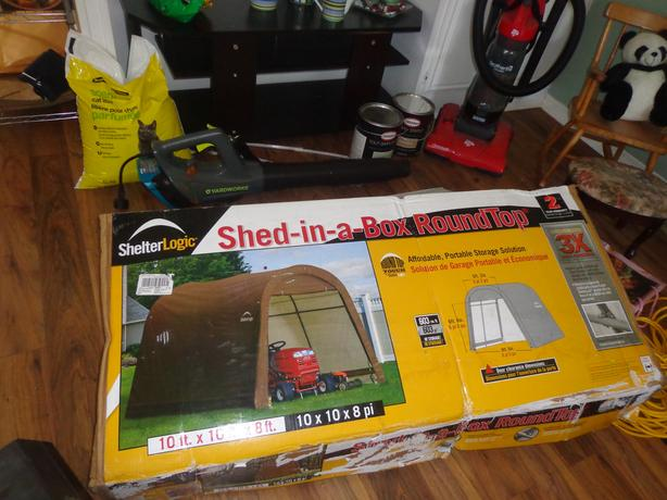 Car winter tent or shed