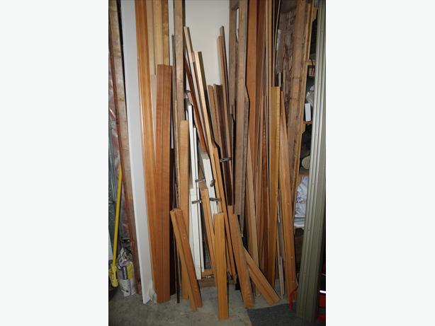Miscellaneous trim and cabinet finishing materials