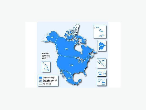 Garmin Nuvi Map - North America 2017.20