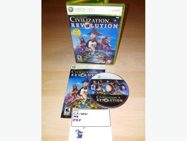 Civilization Revolution For The Xbox 360
