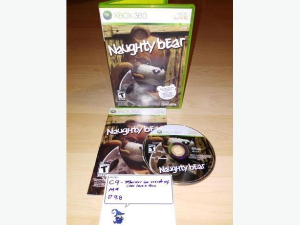 Naughty Bear For The Xbox 360