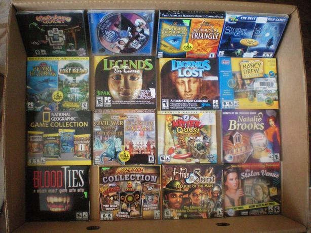 24 PC Hidden Object Games,