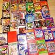 Large Lot Video Game Boxes - Atari - Intellivision - Gameboy