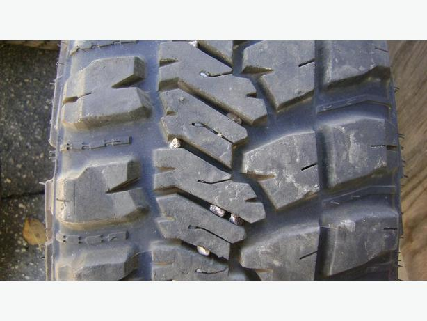 LT 245 75 r17 GOODYEAR WRANGLER MT/R LOAD RANGE E TIRE WITH KEVLAR $140