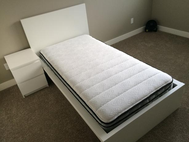 IKEA Queen bed and Single bed set