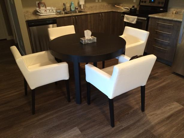 IKEA dinning table with chair