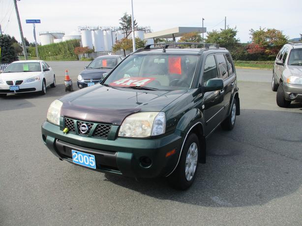 2005 Nissan X-TRAIL 4x4