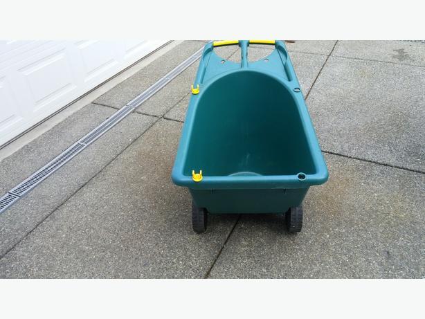 Dual wheeled barrow