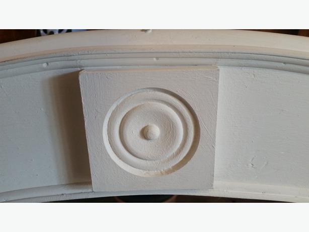 Handmade Rustic White Arch