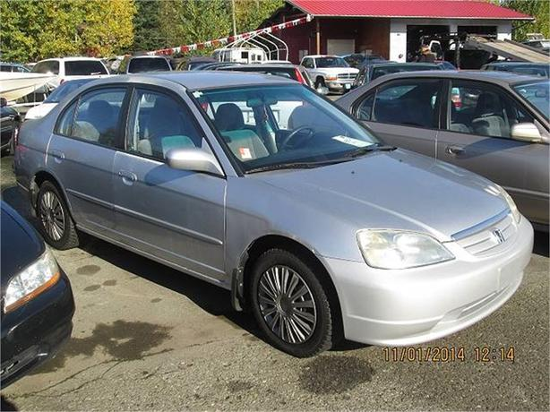 2003 Honda Civic LX Sedan 4-spd AT with Front Side Airbag