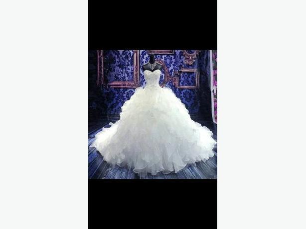 NEW SIZE 16 WEDDING DRESS