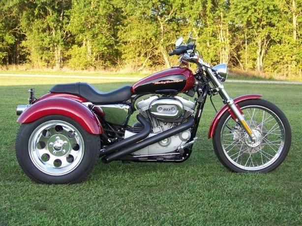 NEW Harley Davidson Sportsters Trike Conversion