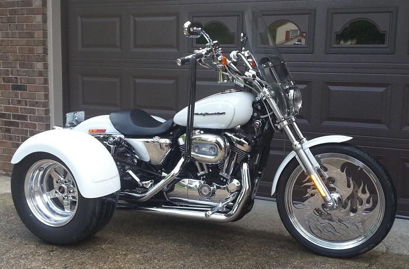 Harley Davidson Red Deer >> NEW Harley Davidson Sportsters Trike Conversion Kits Outside Victoria, Victoria