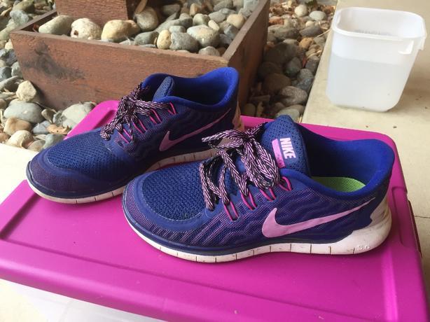 Nike free run 5.0 size 7