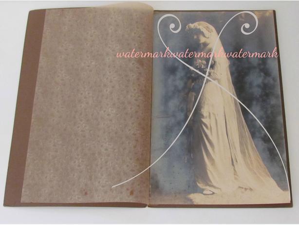 Antique Bride Portrait Photograph - Cabinet Card