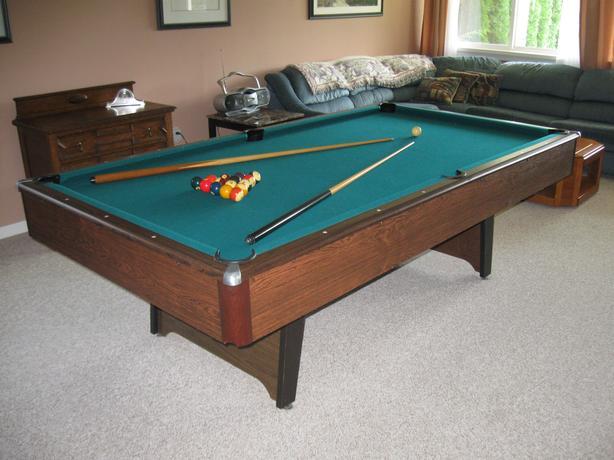 5 x 8 slate pool table
