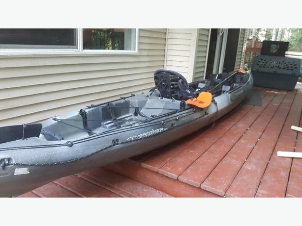 2015 Wilderness Systems Fishing Kayak