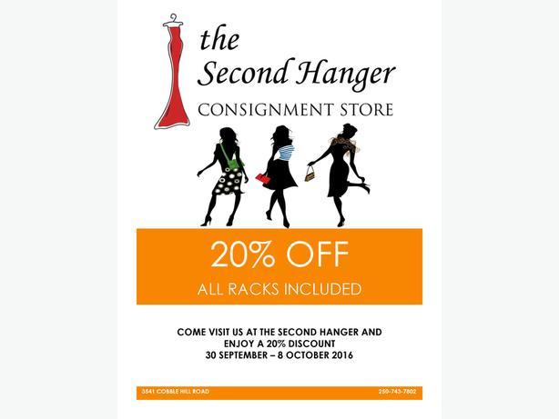 THE SECOND HANGER 20% OFF