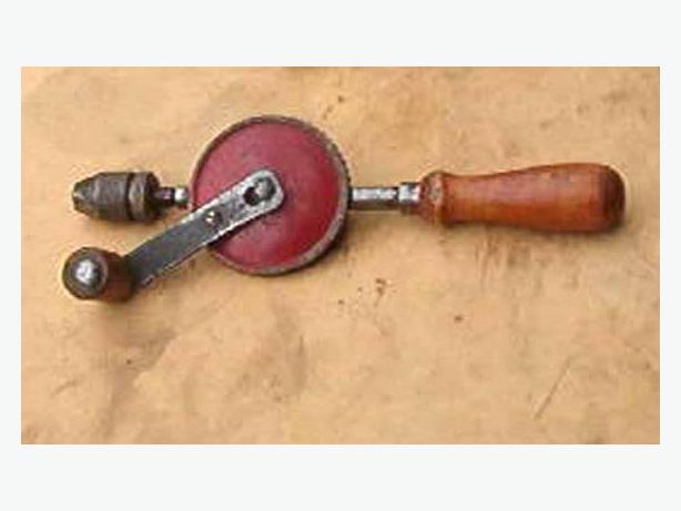 Vintage hand drills