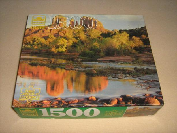 1500  PIECES  JIGSAW  PUZZLE