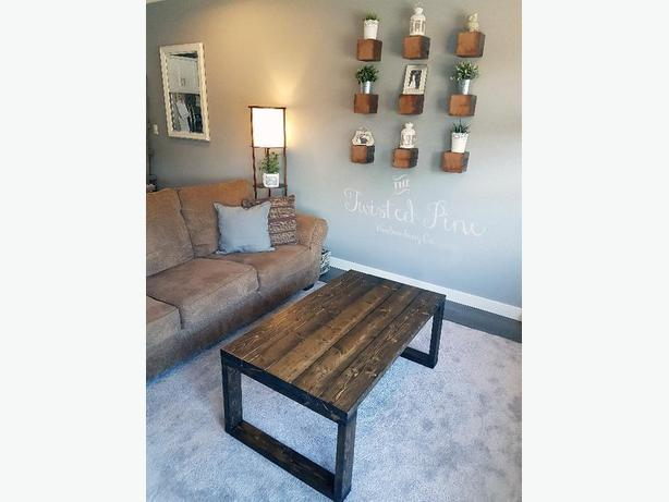 Custom Rustic Wood Furniture made in Nanaimo