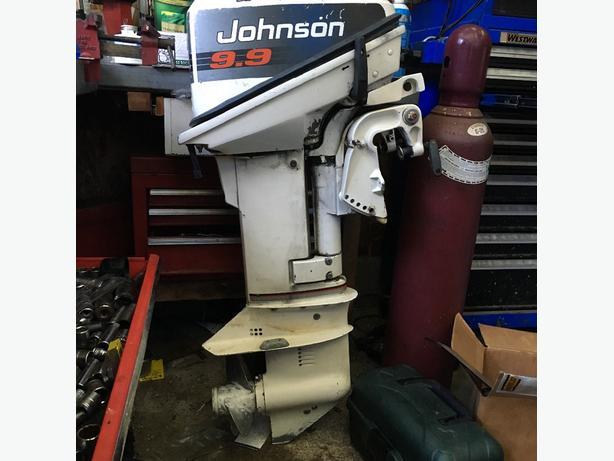 9.9 Johnson Outboard