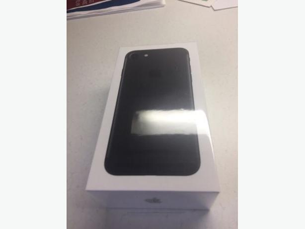BNIB iphone 7 matte black 128gb