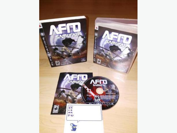 Afro Samurai For The Playstation 3