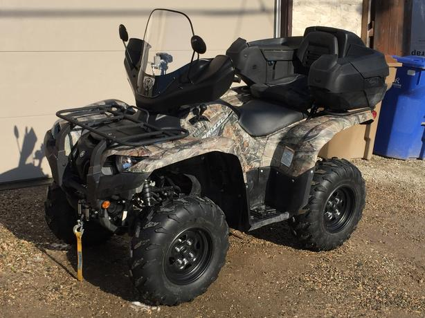 2014 yamaha grizzly 550 eps camo west regina regina for 2014 yamaha grizzly 550 for sale