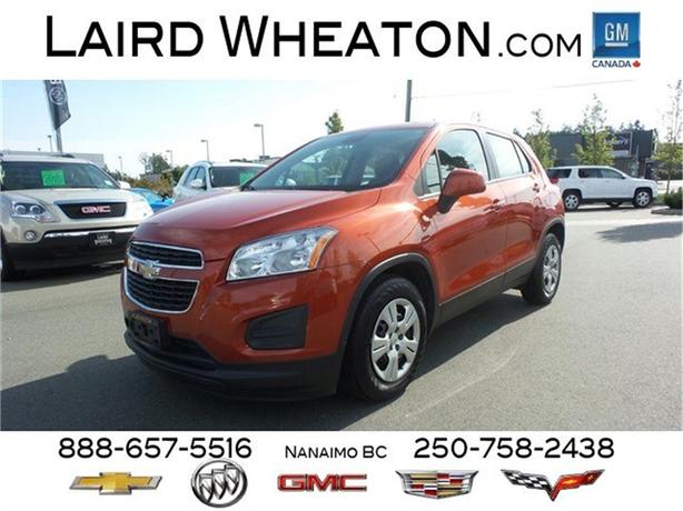 2014 Chevrolet Trax LS Turbo Charged w/ Bluetooth