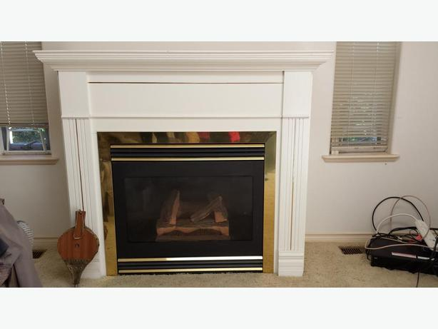 Lennox decorative gas fireplace