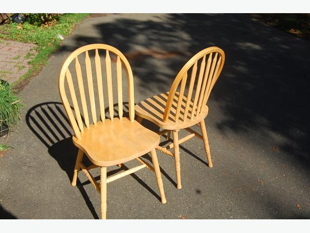 round backed chairs