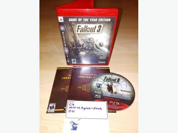 Fallout 3 Game Of The Year Edition For The Playstation 3