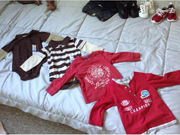 Gently Used Boy Clothing