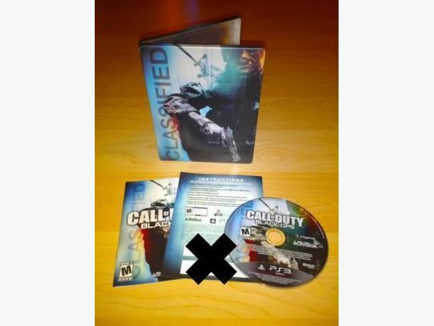 Call Of Duty Black Ops Hardened Edition With Steel Case