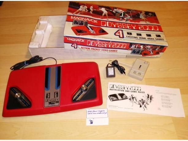Vintage 1977 Magnavox Odyssey 2000 Complete In Box