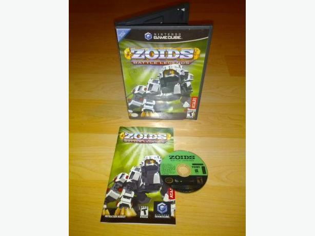 Zoids Battle Legends For The Nintendo Gamecube - Hard To Find!