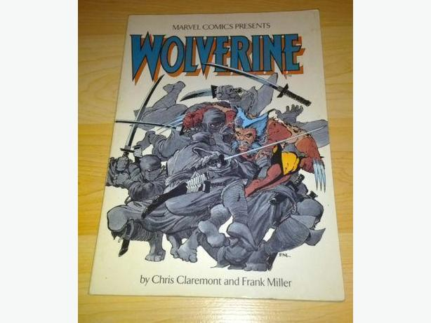 1987 Wolverine TPB Comic Reprints #1-4 - Miller & Claremont