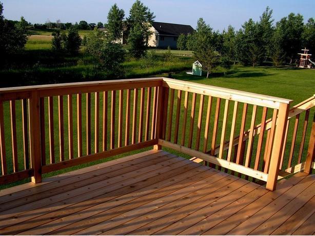 Cedar Deck Spindles S4S