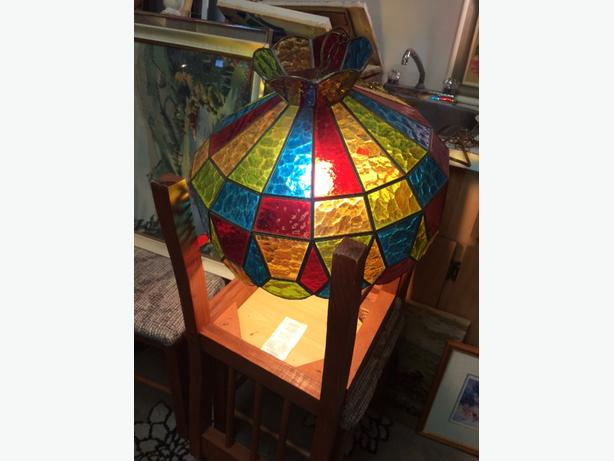 lamp stain glass