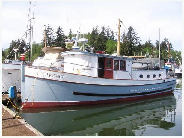 Custom Trawler Classic Wood Yacht For Sale - Diligence