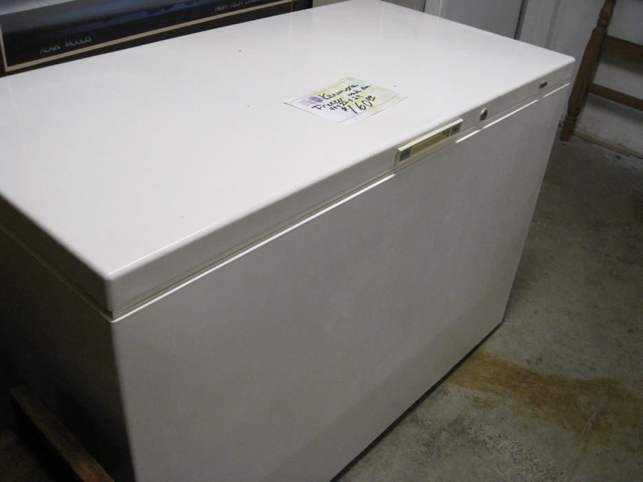 kenmore large chest freezer for sale at st vincent de paul o